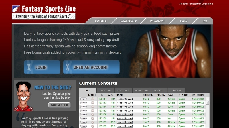 Fantasy Sports Live Review